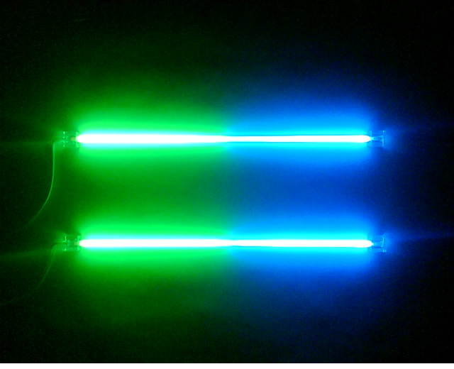 "BLUE/GREEN - Dual Neon Light Kit - 30cm (12"")"