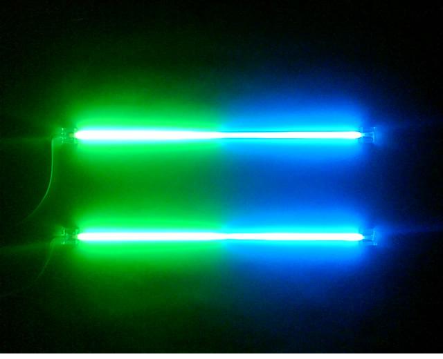 Blue/Green Neons - 30cm (12 inch)