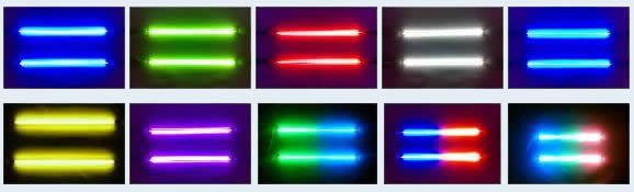 30cm Motorcycle Neon Lights